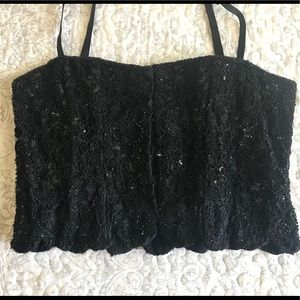 Vintage late 80's /early 90's crop top